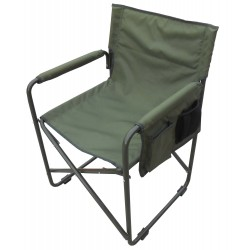 Camping Folding Chair With Arms frame Iron