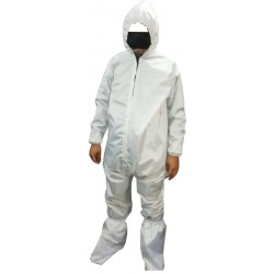 Protective suit for medical staff parachute fabric
