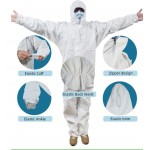 Protective suit for medical staff