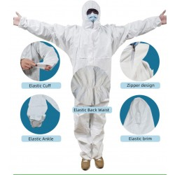 Protective suit for medical staff (2)