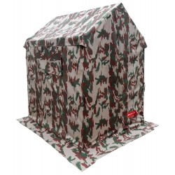 Toilet Frame Tent Camouflage 5X6ft