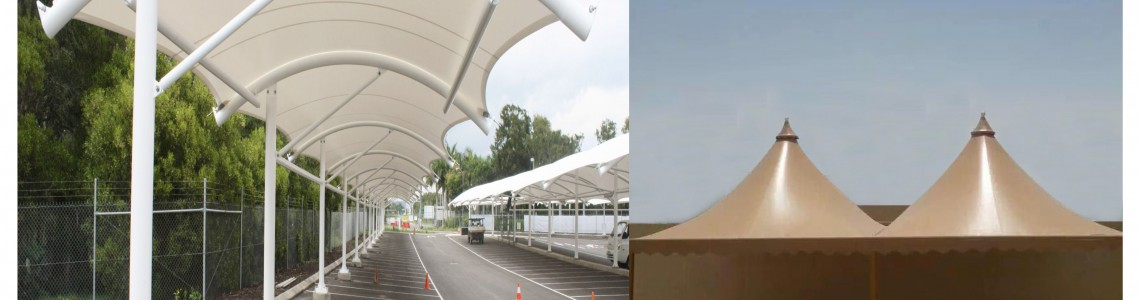 PVC Tensile Structures