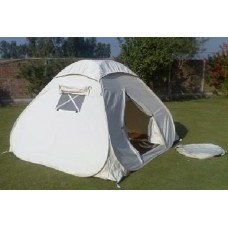 PopUp Cotton Tent for 4 Person
