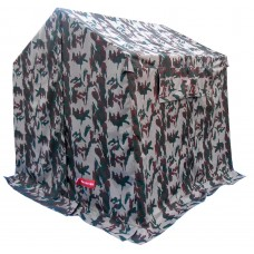 Toilet Frame Tent Camouflage 8X8ft